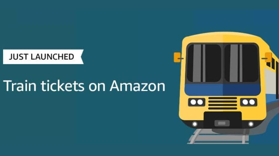 Amazon India Launches Train Ticket Booking Service in Partnership With IRCTC