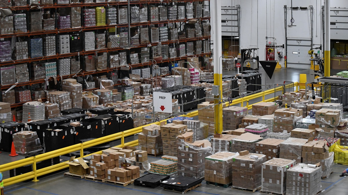 Amazon could replace some of its warehouse workers with robots