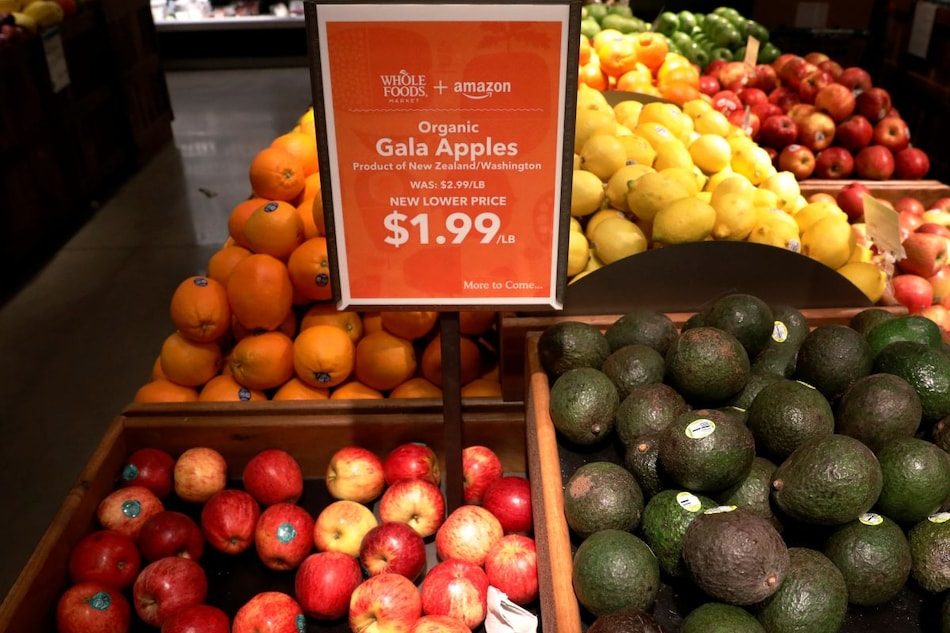 Amazon to Let Whole Foods Shoppers Pay With a Swipe of Their Palm in US
