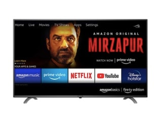 AmazonBasics Fire TV Edition Ultra-HD TVs Launched in India, Price Starts at Rs. 29,999