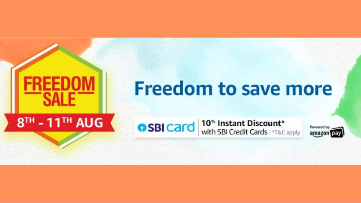 Amazon Freedom Sale 2019 Begins August 8: Offers on Mobiles, Laptops, Other Top Deals Previewed