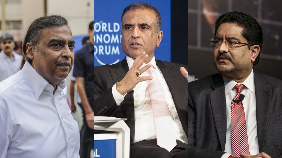 The $84 Billion Dilemma Vexing India's Three Telecom Tycoons