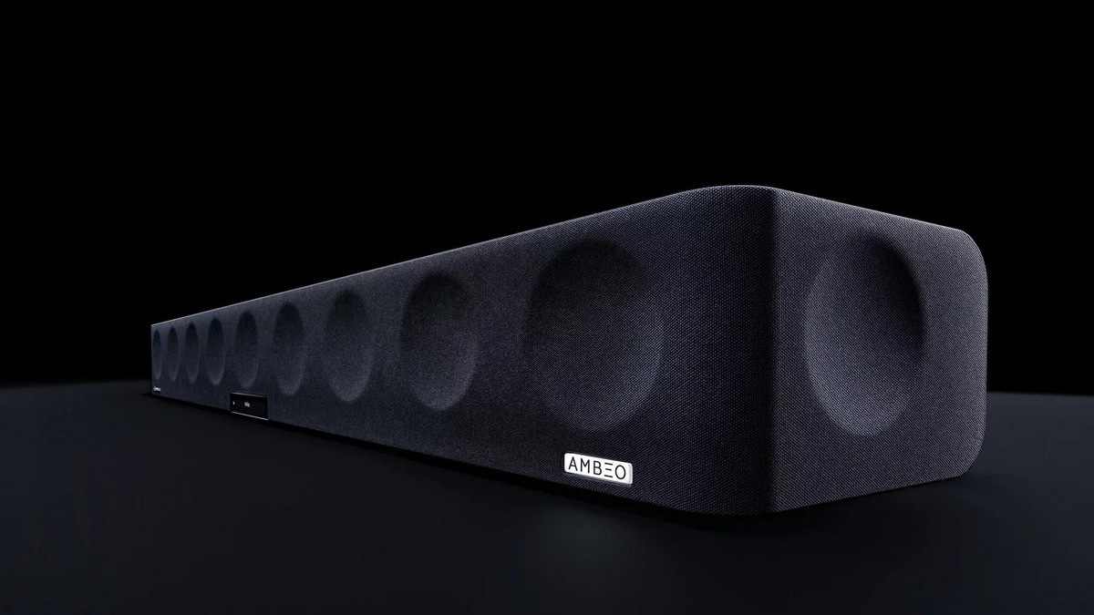 Sennheiser Ambeo Soundbar With 3D Sound, Dolby Atmos Launched in India at Rs. 1,99,990