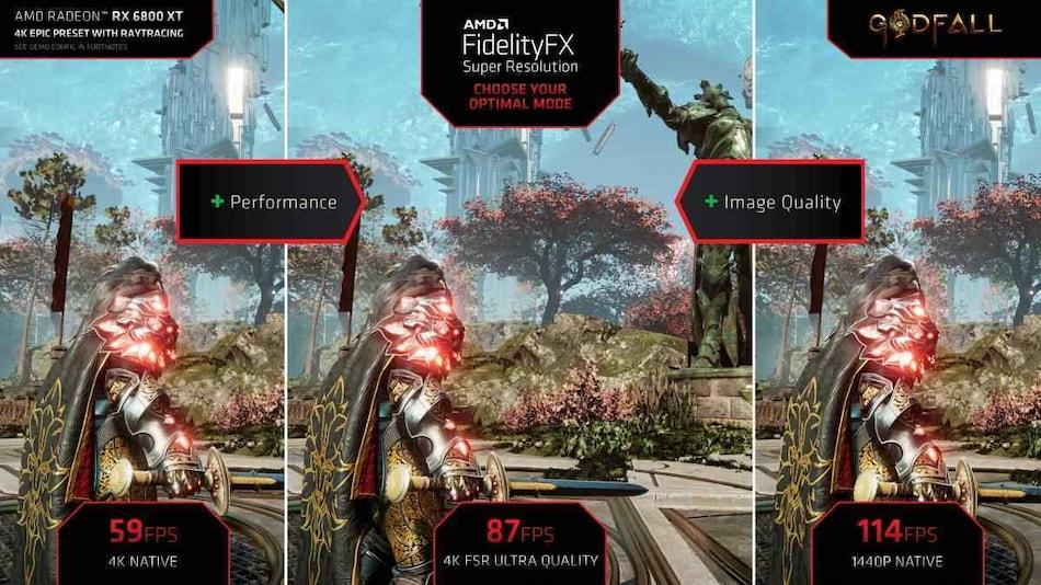 AMD FidelityFX Super Resolution Cross-Platform Upscaling Released, Challenges Nvidia's RTX DLSS