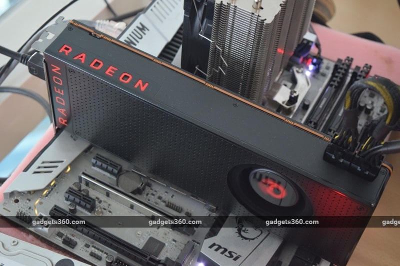 amd radeon vega64 runningtop ndtv vega  AMD Radeon RX Vega 64 Review  amd radeon vega64 runningtop ndtv 1514462373055