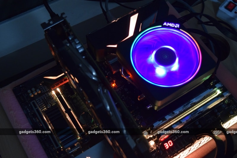 AMD Ryzen 7 2700X and Gigabyte Aorus X470 Gaming 7 Wifi