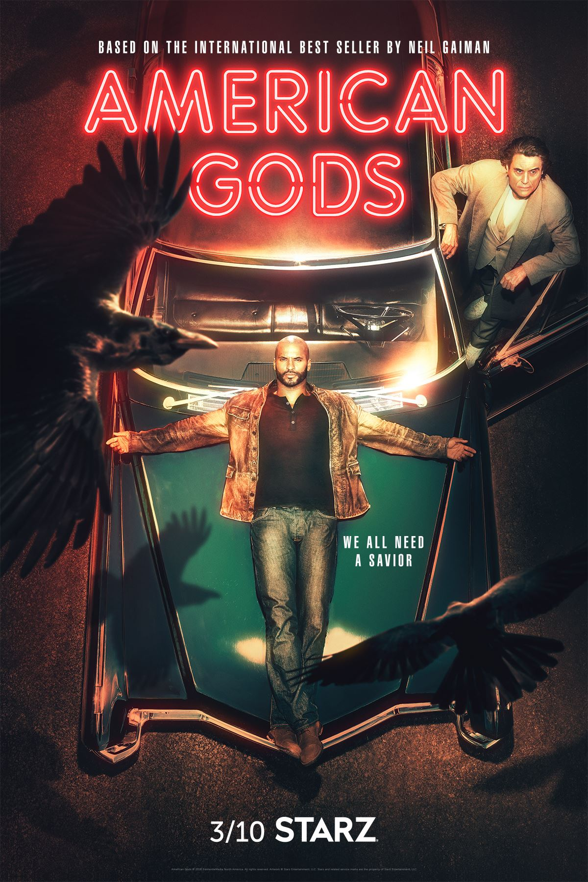 american gods season 2 poster American Gods season 2
