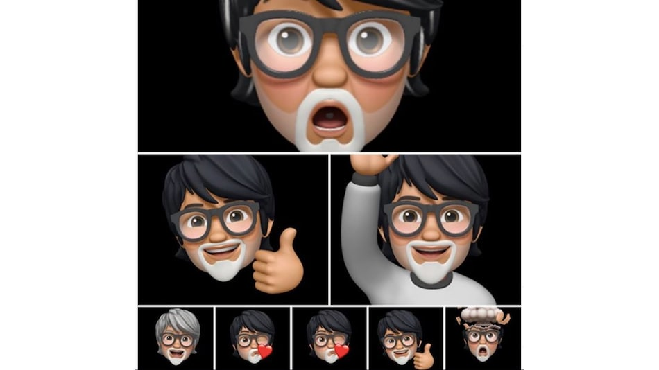 Bollywood Star Amitabh Bachchan Discovers Memoji, Jokingly Suggests They Are the Future of Acting