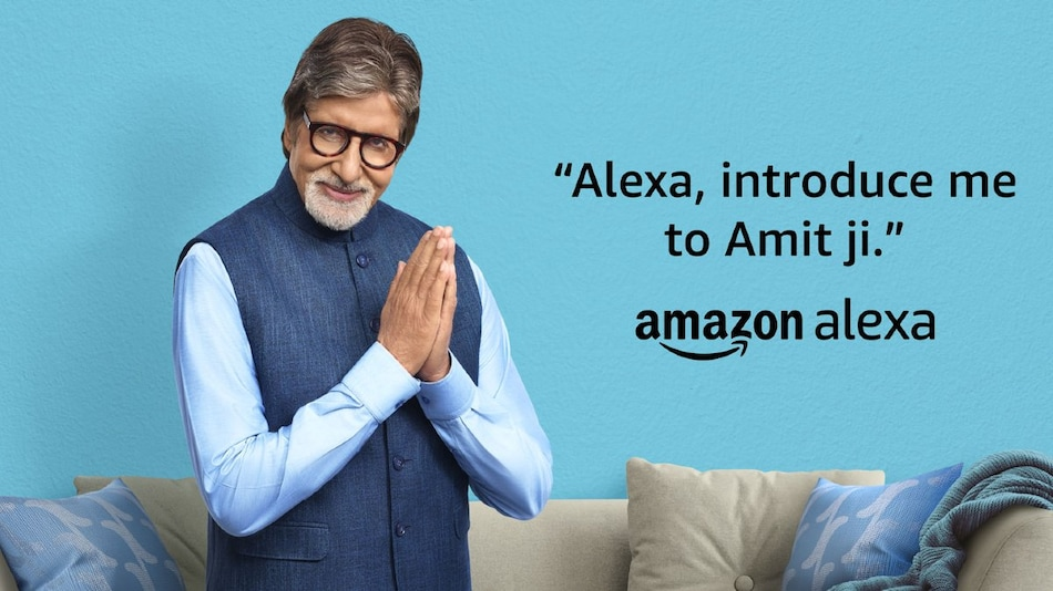 Amazon Alexa Gets Amitabh Bachchan's Voice in India, for a Price