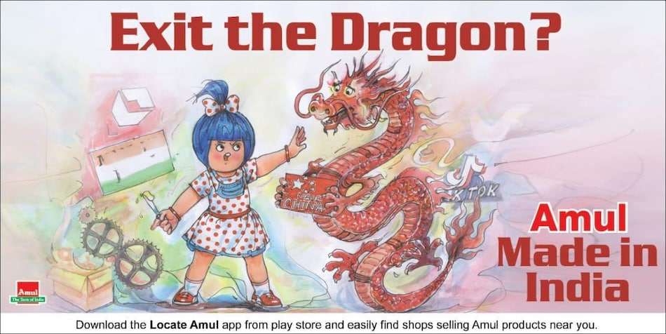 Amul Twitter Account Briefly Blocked After Tweet Targeted China