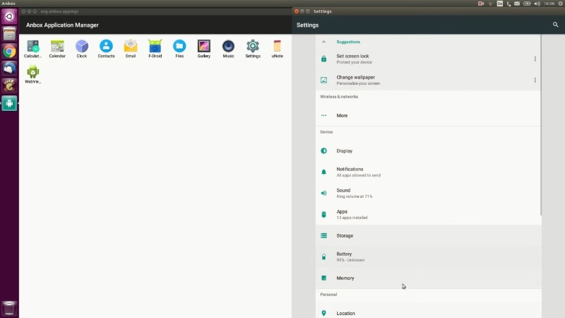 Anbox for Linux Runs Android Apps Like Native Applications