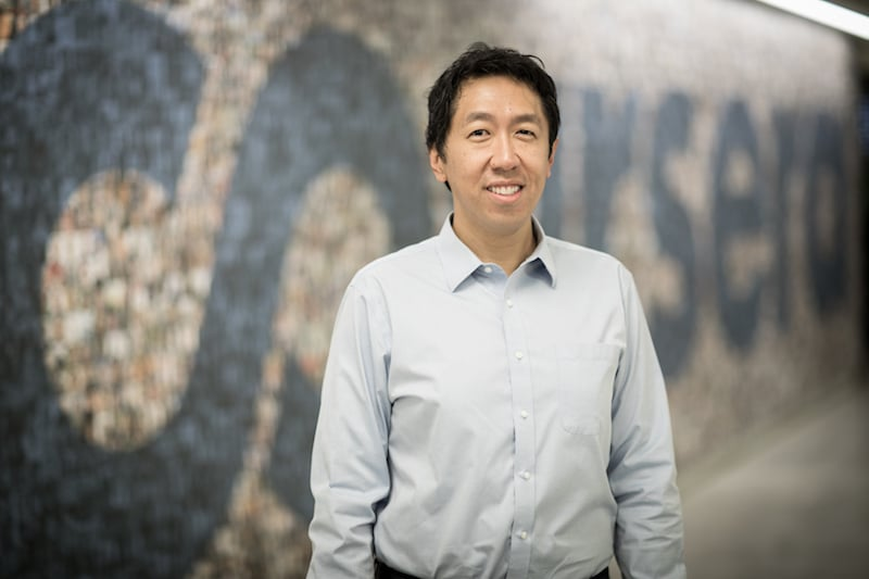 'AI Is the New Electricity', Says Coursera Co-Founder, and Former Google and Baidu AI Researcher, Andrew Ng