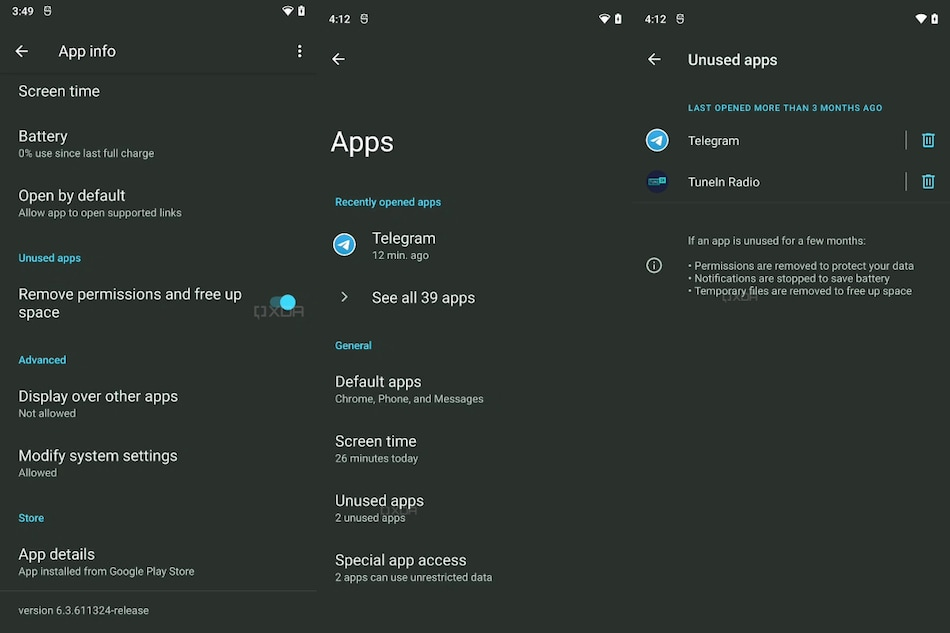 Android 12 May Bring App Hibernation Feature to Help Free Storage Space