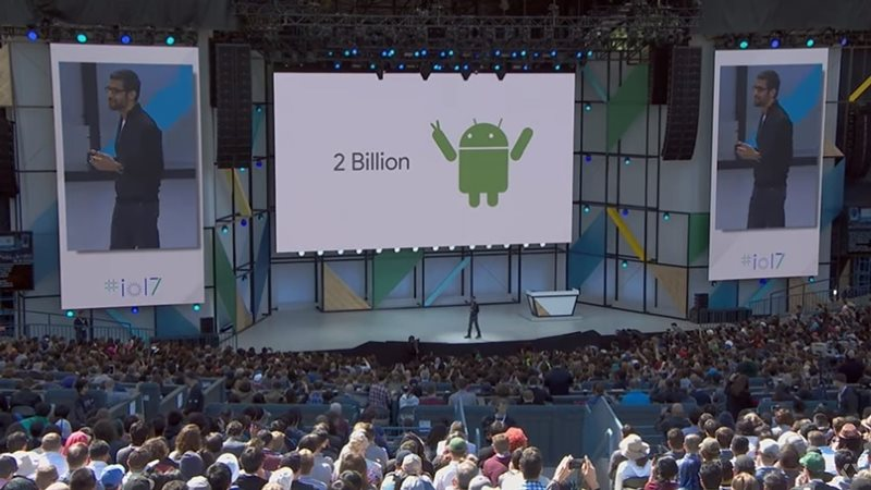 android 2 billion Google IO 2017 Android