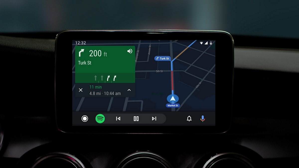 Google Revamps Android Auto Interface With Dark Mode