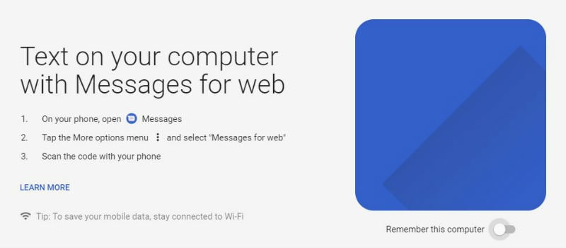 android messages for web 1 Android Messages