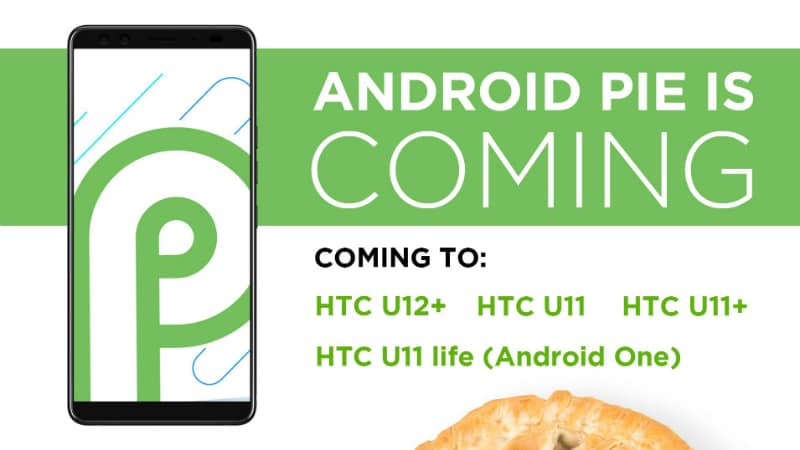 HTC, Sony Announce Which of Their Smartphones Will Get Android 9 Pie