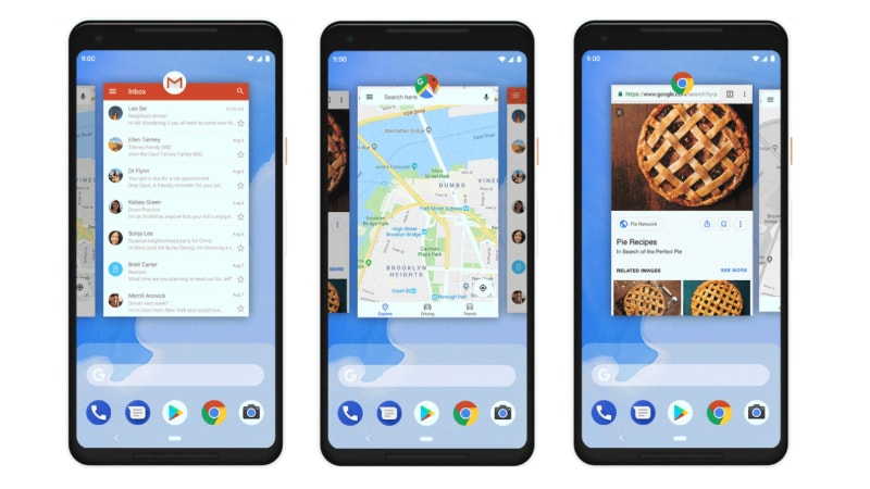 Google Pixel 3 to Ship With Android 9's Gesture Navigation as Only Option
