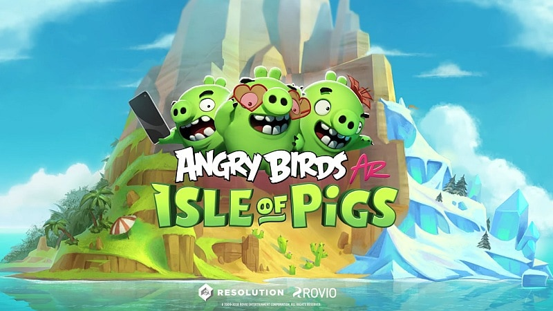 Angry Birds AR: Isle of Pigs Augmented Reality Game Announced for Mobile
