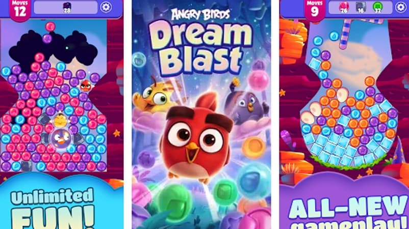 Angry Birds Returns With a New Entry in the Franchise, Angry Birds Dream Blast