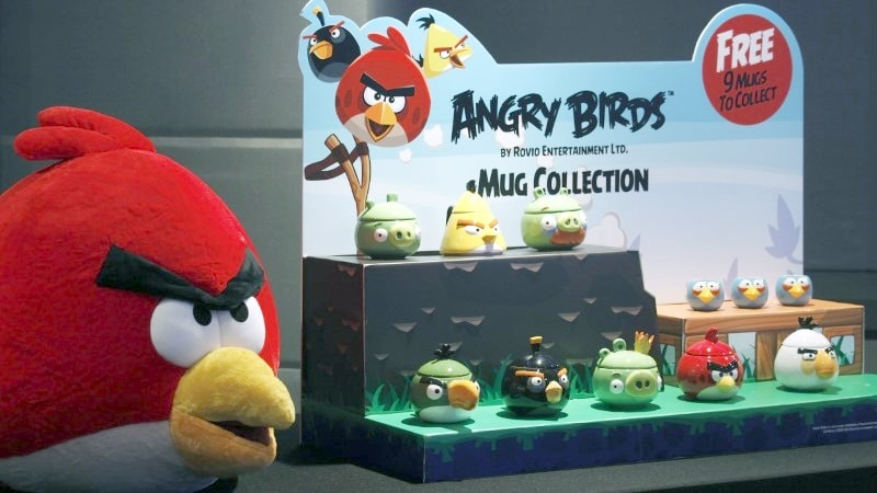Angry Birds maker Rovio to list shares on Helsinki Stock Exchange