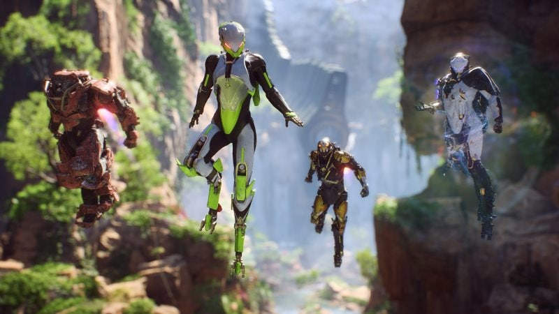 Anthem CES 2019 Trailer Reveals Support for Nvidia DLSS Tech