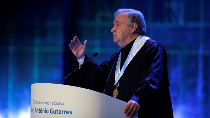 UN Chief Urges Global Rules for Cyber-Warfare