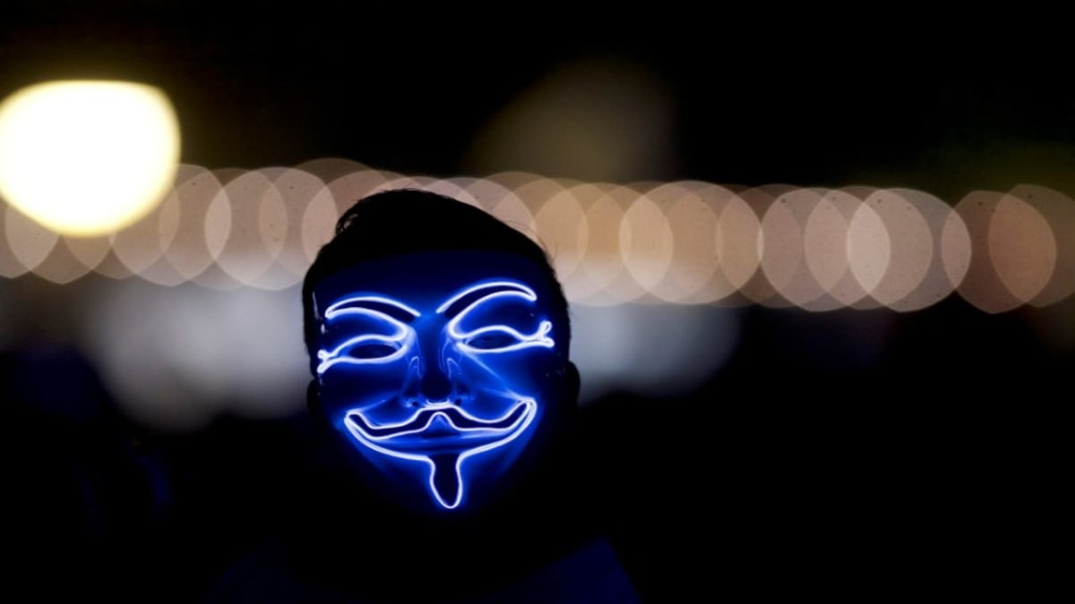 Image of article 'Hackers and Hucksters Reinvigorate 'Anonymous' Brand Amid US Protests'