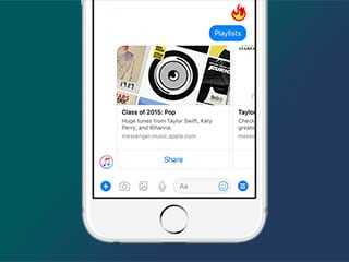 You Can Now Stream Apple Music on Facebook Messenger