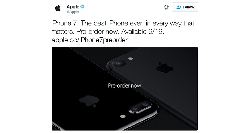 Apple Accidentally Leaks Its Own iPhone News on Twitter