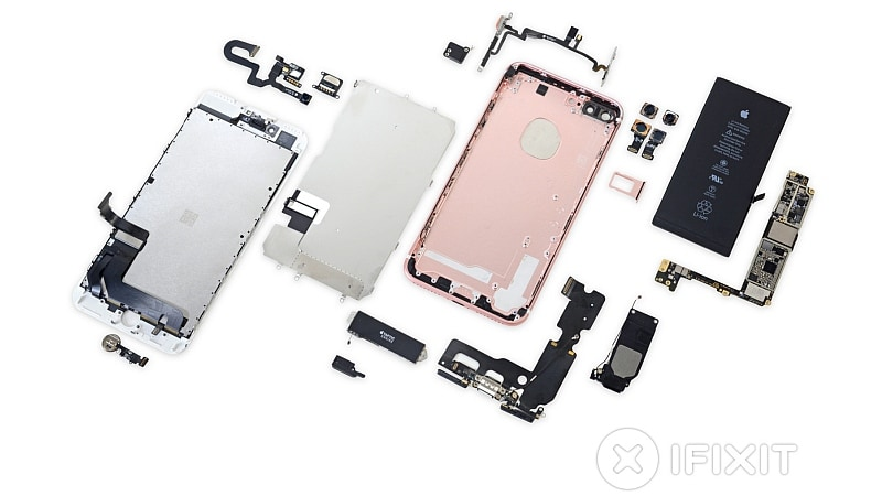 iPhone 7 Plus Teardown Shows 3GB of LPDDR4 RAM and a 2900mAh Battery