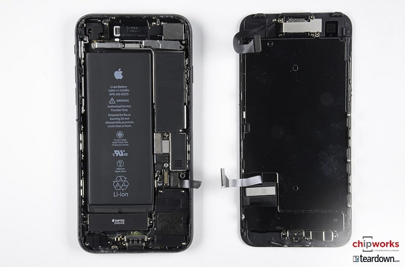 iPhone 7 Teardown Reveals 2GB of LPDDR4 RAM and a 1960mAh Battery