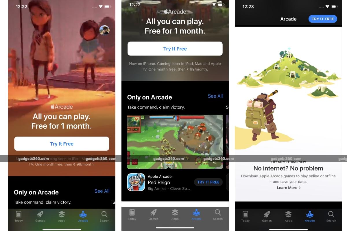 apple arcade screenshots gadgets 360 Apple Arcade