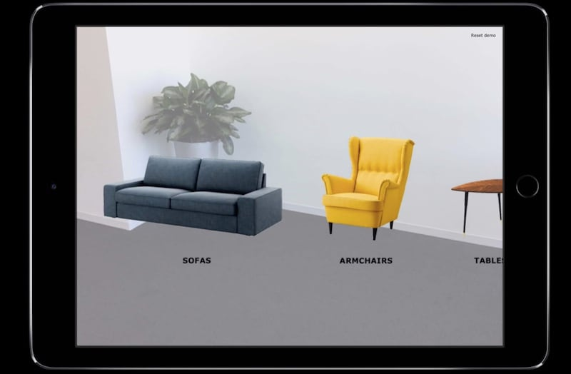 iOS 11's ARKit Showcased With App Demos for Giphy, Ikea, and The Walking Dead