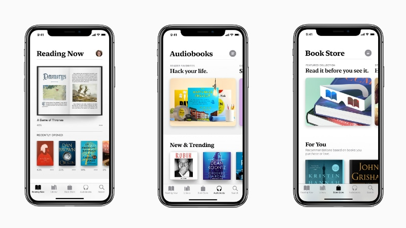 Apple Books App Previewed Ahead of iOS 12 Launch, Will Replace