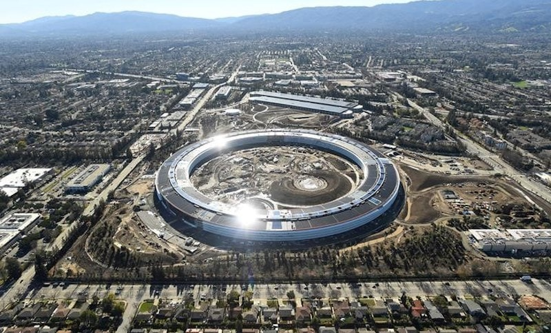Apple Park 'Spaceship' Campus to Open April With a Steve Jobs Theater