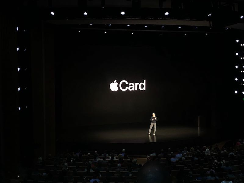 Apple Introduces Apple Card, Its Own Credit Card With Cashback and More