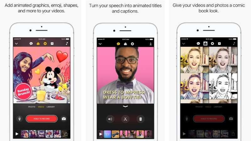 Apple Clips Video Editing App Gets Animated Overlays With