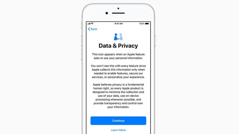 Apple's revamped privacy controls will let you download all of your data