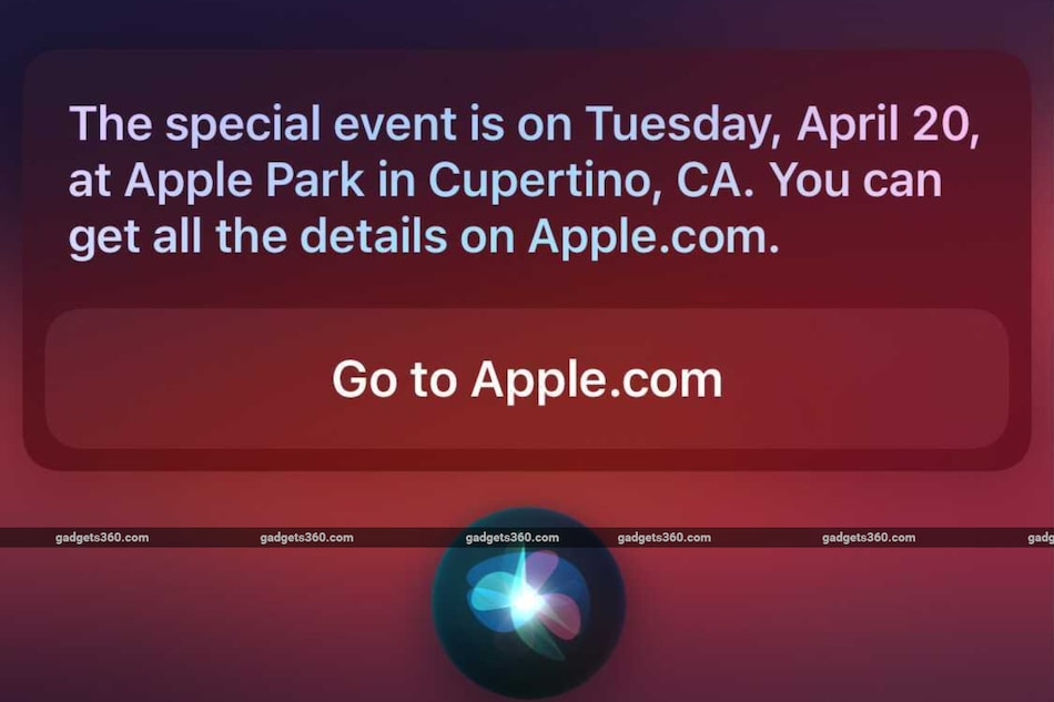 Apple Event for Rumoured New iPad Pro Models May Be Scheduled for April 20, Siri Reveals