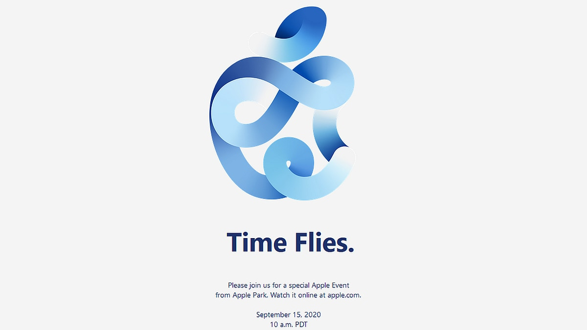 Apple Schedules 'Time Flies' Event for September 15, New Watch and iPad Models Expected - Gadgets 360