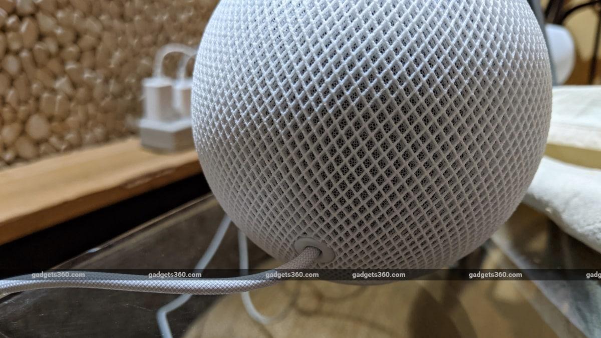 apple homepod mini review cable Apple  Apple HomePod mini