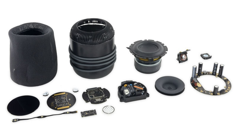 Apple HomePod 'Built Like a Tank' but Very Hard to Repair: iFixit