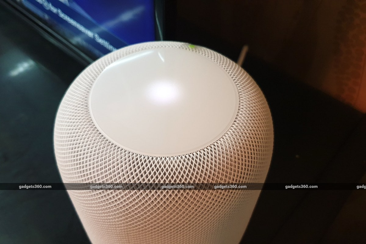 apple homepod top image gadgets 360 Apple HomePod  HomePod  Apple