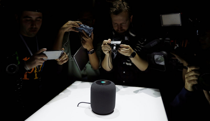 Apple Announces Smart Home Audio Speaker HomePod