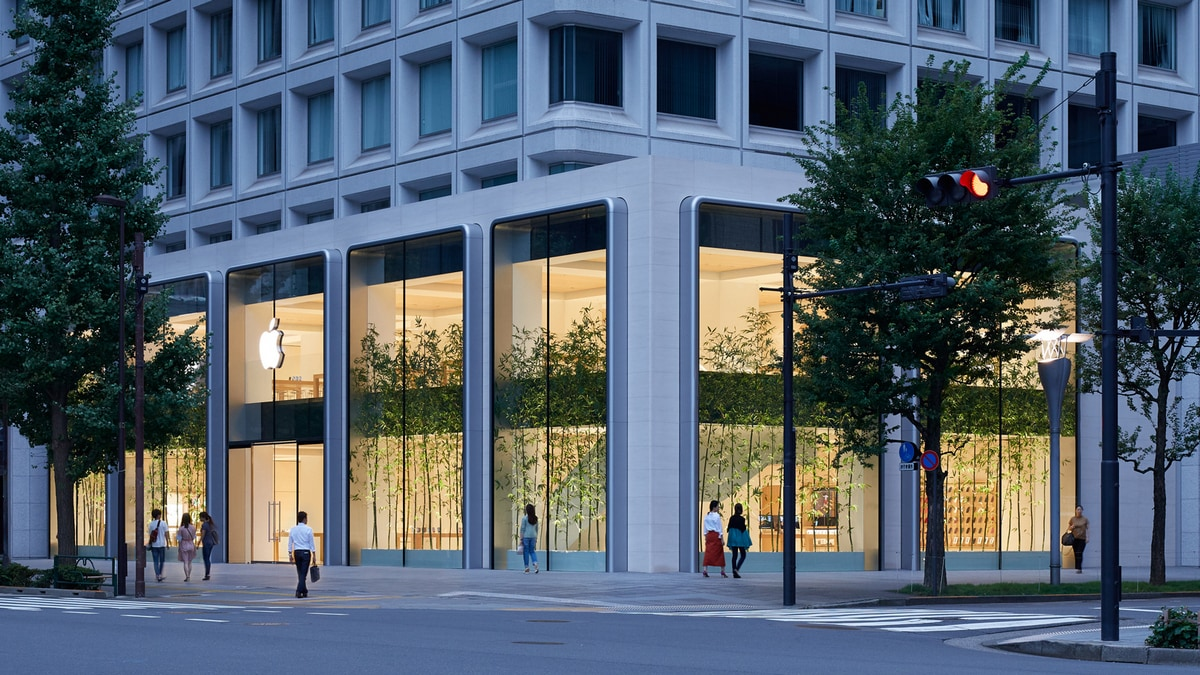 Apple's Largest Store in Japan to Open on Saturday in Tokyo