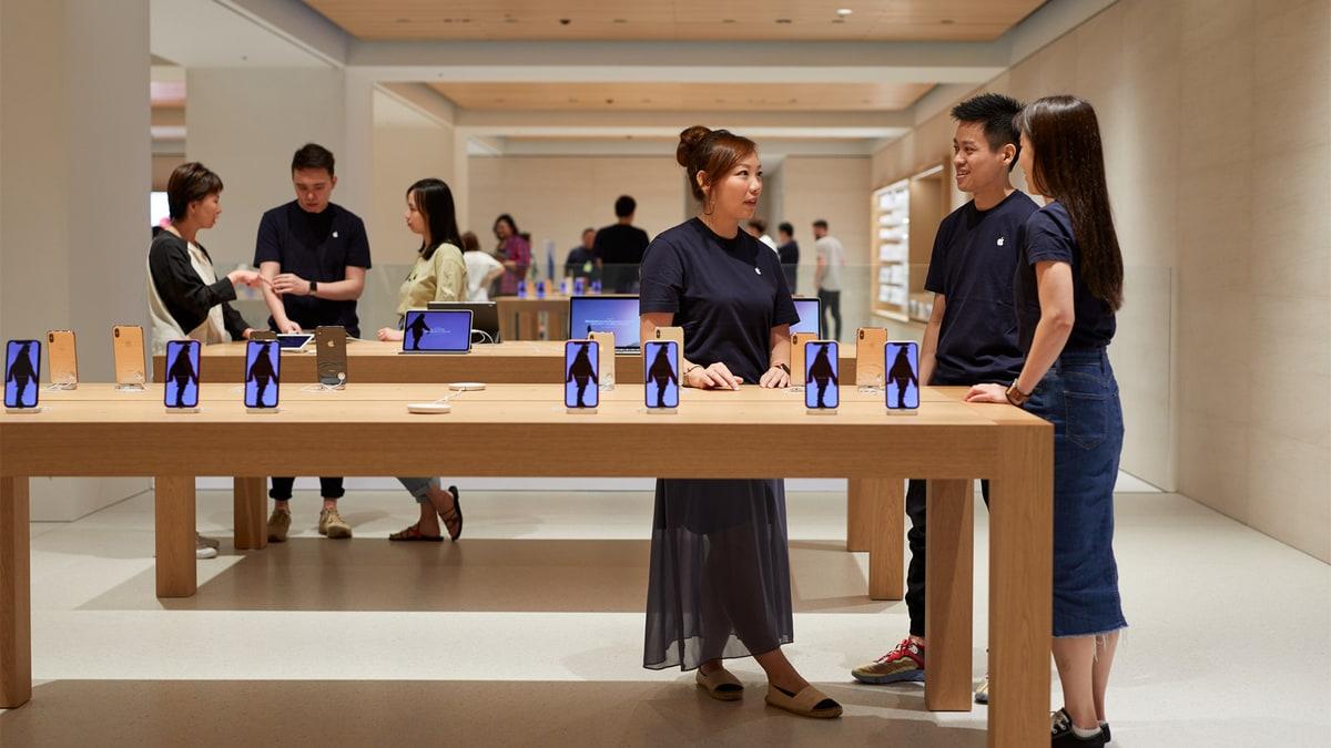 apple japan store interior full Apple