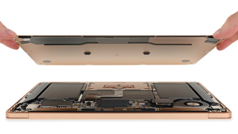 MacBook Air 2018 Has a Bunch of Modular Components, Ingress-Resisting Keyboard: iFixit
