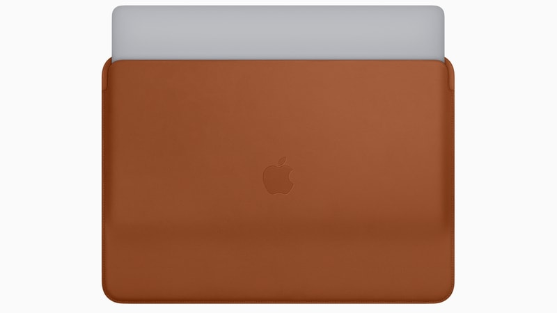 apple macbook pro 2018 leather sleeves macbook
