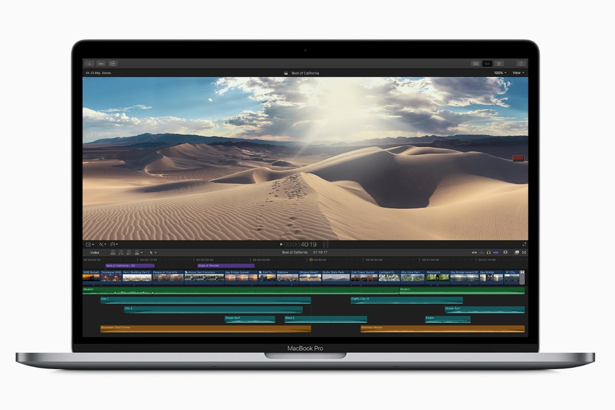MacBook Pro With Touch Bar Gets 'Improved' Keyboard, Faster